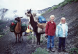 John Fielder III  JT, John Fielder III, age 8, with sister Ashley, age 6, at Crested Butte area...