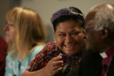 Rigoberta Menchu Tum expresses her deep regaurd for Desmond Mpilo Tutu who she said was her...