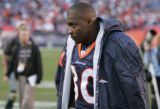 JPM031 FILE CHIEFS BRONCOS+41460 Denver Broncos Rod Smith after playing against the Kansas City...