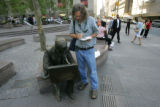 9/11 story  Across from the site of the ground zero in Manhattan, New York on Sept 7, 2006, where...