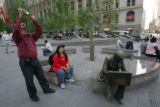 9/11 story.   The site of the ground zero in Manhattan, New York on Sept 7, 2006, where the World...