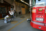 9/11 story.   Ladder Co. 10 and Engine Co. 10. the fire department across from the site of the...
