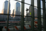 "9/11 story.   A cross, known as the ""Ground Zero Cross"", stands at the World Trade..."