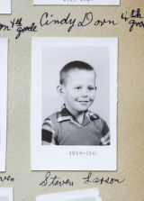 Historical photo of Steven Larson who was on the Greeley school bus that was struck by a train in...