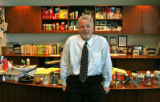 Mark Goldstein (cq), CEO/President of Scott's Liquid Gold, in his office at 4880 Havana St. in...