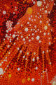 "A detail of Vance Kirkland's ""Explosions of Energy near the Sun 50 Billiion years B.C., No...."