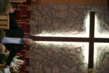 DLM01011   Pastor Larry Kalb leads the morning service at Platte Canyon Community Church Sunday,...