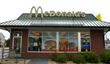 (DENVER, Colo., July 20, 2004)  Location shot of McDonald's  at Colfax and Osage , Denver, Colo. ...
