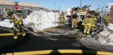 Firefighters from Aurora and Denver  responded to a  fire at 22nd and Clinton in Aurora on...