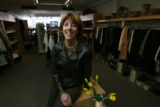 Ms. Bender inside Eccentricity, owned by Gayle Larrance, (cq), 290 Fillmore St., Cherry Creek. ...