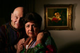 Fred and Miriam Hoffman, photographed in their Southeast Denver home, worry that people won't...