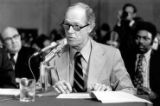 NY123 - ** FILE ** E. Howard Hunt responds to a question from the counsel for the Senate Watergate...