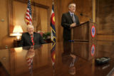 The new Governor of Colorado Bill Ritter signed his first proclamation Wednesday, January 10,...