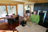Maryanne Bruno (cq), and her husband Ralf Meier (Cq), in their house in Fourmile Canyon in Boulder...