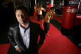(DLM1386) -  Mixed martial arts promoter Sven Bean, left,  is bringing Ring of Fire 28: Evolution...