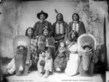William Henry Jackson's photograph Severo and family (Capote Ute Band), circa 1899.