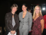 From left, National Multiple Sclerosis Society Colorado Chapter President Carrie Nolan; keynote...