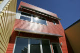 A solar condo complex by architect Michael Tavel (cq), in the Prospect community in Longmont, Co....