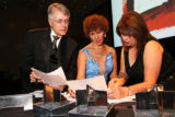 Dancing for a Cause judges, from left, Kent Thompson, Cleo Parker Robinson and Terry Vitale...
