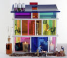 (NYT25) NEW YORK -- Oct. 11, 2006 -- HOME-SCENTS-3 -- Kaleidoscope House, collection of Marie T....