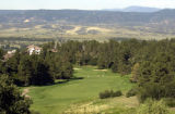 (CASTLE ROCK, Colo.-July 26, 2004)   Hole 1 at Castle Pines Golf Club.  (photo by HAL...