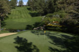 (CASTLE ROCK, Colo.-July 26, 2004)  The 11th hole at the Castle Pines Golf Club. (photo by HAL...