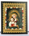 Copy of national Christmas Stamp in Denver Art Museum day of presentation. (KEN PAPALEO/ROCKY...