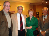 Mental Health Association supporters, from left, Tom Buche, Phil Nash and Sally and Gordon Rippey....
