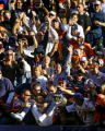 (MAP342)The Denver Broncos Javon Walker (#84, WR) jumps into the stands after catching a 15 yard...