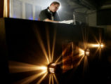 Dj Tyler Jacobson on Friday evening Jan. 26 at Lipgloss, located at 99 W. 9th Ave. in Denver,...