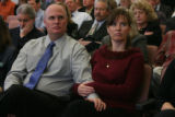 Dan, left,  and Laura, right,  Flanagan, (cq), wait to testify at hearings for HB1192 before the...