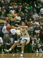 Colorado State center Jason Smith saves the ball in the third quarter of play in the Ram's 76-59...