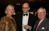 From left, Jan Peck of OZ Architecture, Steven Zick of Christies and Neil Peck.  (DAVID...