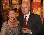 Sandy and Svein Reichborn-Kjennerud. (DAVID FOXHOVEN/SPECIAL TO THE NEWS) Denver Art Museum Design...