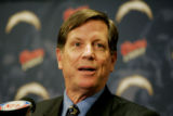 CASH102 - Norv Turner speaks to members of the media during a news conference announcing Turner as...