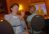 (7/29/2004, Denver, CO)  Democratic Convention watching parties were held in many places around...