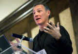 Gregory B. Maffei (cq), President and CEO of Liberty Media Corporation, speaks at the Venture...