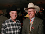 Jerry McMorris, left,  chairman of the executive committee of the National Western Stock Show...