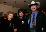 Nancy Petry with Nancy and Doug Jones. (STEVE PETERSON/SPECIAL TO THE NEWS) The 2007 Auction of...