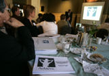 Denver Public Schools Superintendent Michael Bennet attended a meeting of the A+ Denver Committee,...