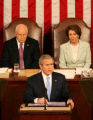 Washington D.C.-President George W. Bush delivers his sixth State of the Union to the nation on...