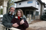 Philip Ricciardi (cq) and his wife Kaye (cq) at their new home in Golden on Thursday October...