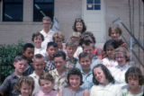 Keith Blue sixth grade class   From 1962 Kodachrome II transparency