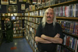 Owner Paul Epstein (cq) Monday morning October 9, 2006, in Twist & Shout Records, at 300 E....
