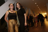 Lee Lee and Izabela Lundberg.   Hot DAM:  Party on the Edge, celebrating the opening of the new...