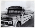 Accidents, Bus  Greeley dated December 1961  Photo by Colorado State Patrol credit line appreciated