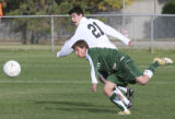 Mountain Vista's #12, Sam Brodsky vs Arapahoe's #21, Drew Beckie. Arapahoe High School, 2201 E....