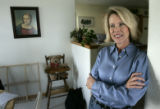 Claudia Beauprez stands by their kitchen at her home -- she talks about her plans if she becomes...