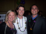 Committee member Sarah Ritter, Beau Hayes and committee member Ryan Renz. (STARLIGHT STARBRIGHT...