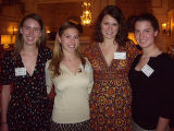 From left, Hilary Walker, Remy Dikeou, Sydney Duncan and Greta Meyer. (DAHLIA JEAN WEINSTEIN/ROCKY...